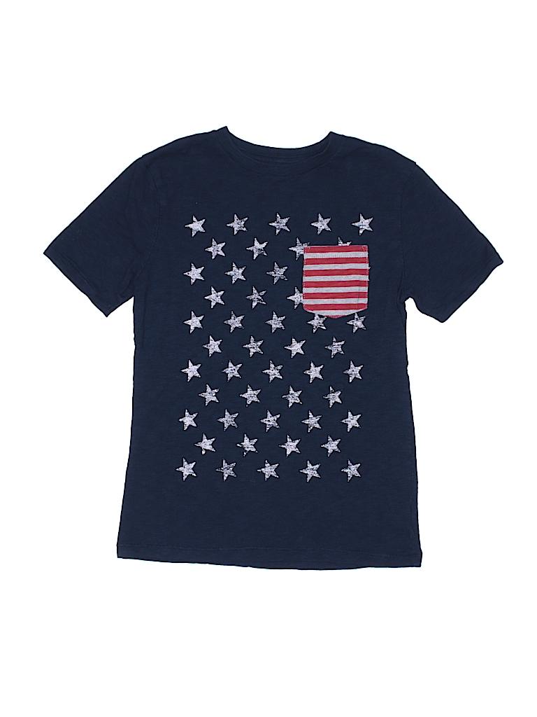 33c5cb753797 Gap Kids 100% Cotton Stripes Stars Dark Blue Short Sleeve T-Shirt ...