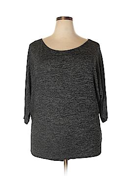 Bongo 3/4 Sleeve Top Size 1X (Plus)
