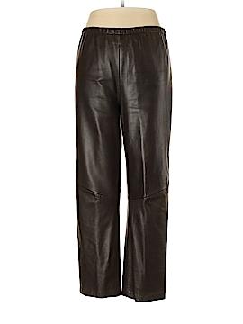 Saks Fifth Avenue Leather Pants Size L