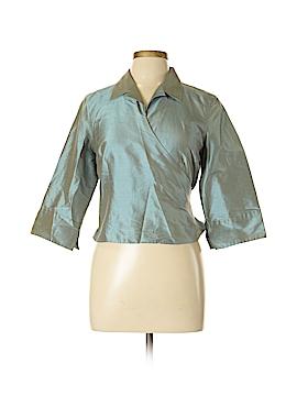 Talbots 3/4 Sleeve Silk Top Size 12