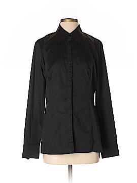 Hilton Hollis Long Sleeve Button-Down Shirt Size 8