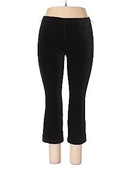 Lands' End Velour Pants Size 10
