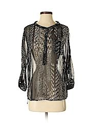 Express Women Long Sleeve Blouse Size S (Petite)