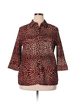 Laura Scott 3/4 Sleeve Blouse Size 18 (Plus)