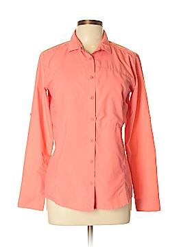 Mountain Hardwear Long Sleeve Button-Down Shirt Size 10
