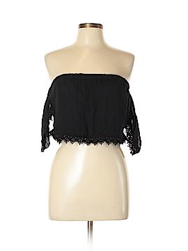 TOBI Short Sleeve Blouse Size L