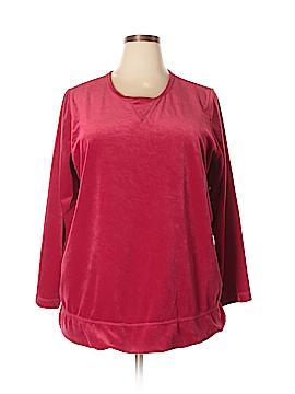 Woman Within Sweatshirt Size 22 (1X) (Plus)