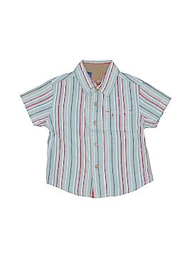 Genuine Kids from Oshkosh Short Sleeve Button-Down Shirt Size 12 mo