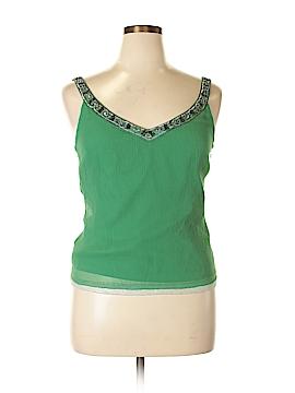Antonio Melani Sleeveless Silk Top Size 14