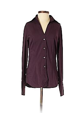 Express Design Studio Long Sleeve Button-Down Shirt Size XS