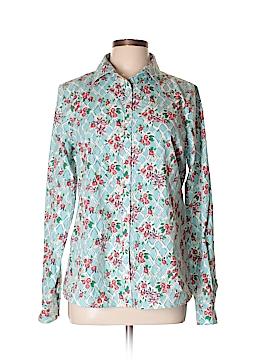 Lands' End Long Sleeve Button-Down Shirt Size 12 (Tall)