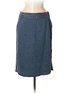 Ann Taylor Factory Denim Skirt Size 8