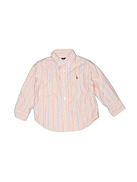 Ralph Lauren Baby Long Sleeve Button-Down Shirt Size 12 mo