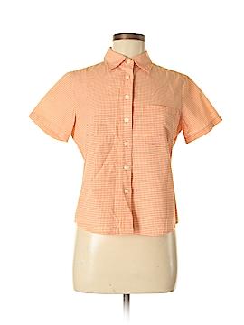 Evan Picone Short Sleeve Button-Down Shirt Size 8