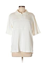 Draper's & Damon's Women Short Sleeve Top Size M