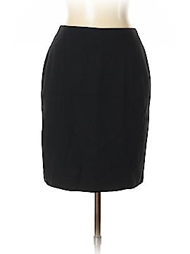 Saks Fifth Avenue Wool Skirt Size 10