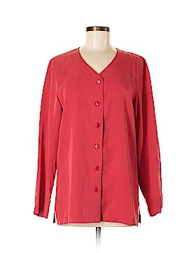 Jones Wear Long Sleeve Blouse Size 4