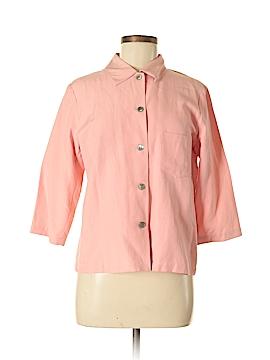 Sigrid Olsen Sport 3/4 Sleeve Button-Down Shirt Size 6