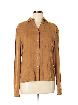 Fashion Classics Long Sleeve Blouse Size L