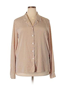 Liz Baker Long Sleeve Button-Down Shirt Size 20 (Plus)
