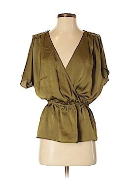 Theme Short Sleeve Blouse Size S