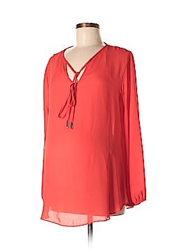 Olian Long Sleeve Blouse Size M (Maternity)