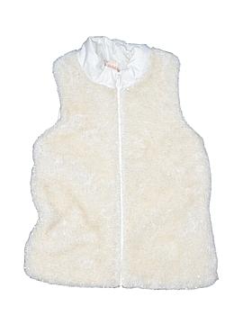 Faded Glory Faux Fur Vest Size 10 - 12