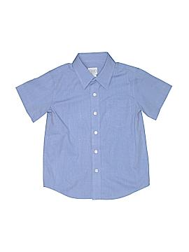 Talbots Kids Short Sleeve Button-Down Shirt Size 6