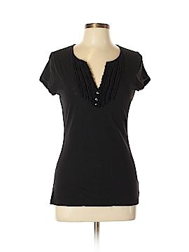 INC International Concepts Short Sleeve Henley Size L