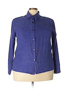 Allyson Whitmore Long Sleeve Blouse Size 1X (Plus)