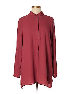 Pleione Long Sleeve Blouse Size M