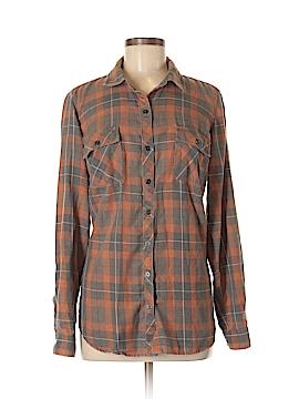 Lovesick Long Sleeve Button-Down Shirt Size 00