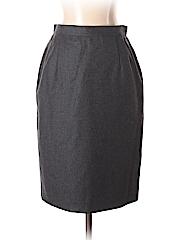 Armani Collezioni Women Wool Skirt Size 4