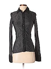 Anne Fontaine Women Long Sleeve Button-Down Shirt Size XS (1)