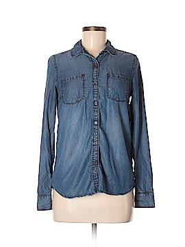 Caslon Long Sleeve Button-Down Shirt Size XS