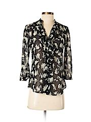 HD in Paris Women Long Sleeve Blouse Size 0