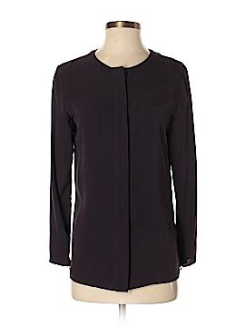 Longchamp Long Sleeve Silk Top Size 36 (FR)