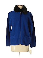 Lisa International Women Wool Coat Size M