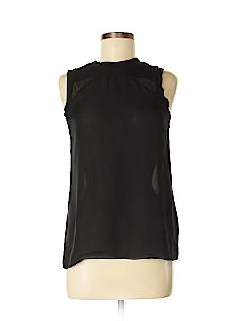 Nicole Miller Artelier Sleeveless Silk Top Size S