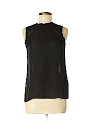 Nicole Miller Artelier Sleeveless Silk Top