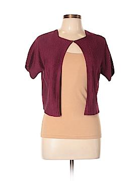 AKRIS for Bergdorf Goodman Silk Cardigan Size 10