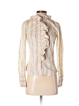 Les Copains Long Sleeve Button-Down Shirt Size 0