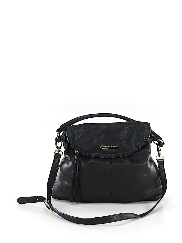 32a838fc8b4f Cynthia Rowley Solid Black Crossbody Bag One Size - 66% off