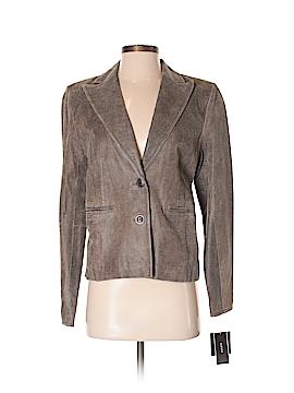 Alfani Faux Leather Jacket Size M