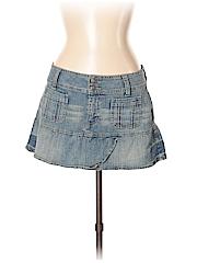 Hydraulic Women Denim Skirt Size 13 - 14