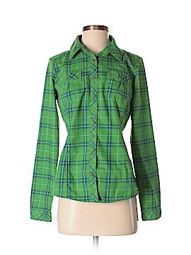 Mountain Hardwear Long Sleeve Button-Down Shirt Size 2