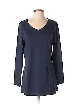 Isaac Mizrahi LIVE! Long Sleeve T-Shirt Size S