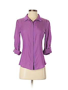 Elie Tahari Long Sleeve Blouse Size XS