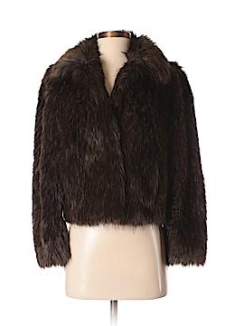 Gallery Faux Fur Jacket Size P (Petite)
