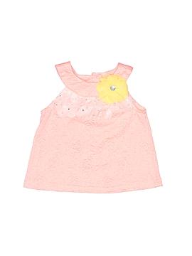 Little Lass Sleeveless Blouse Size 18 mo